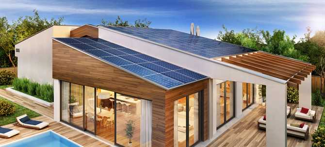 having solar panels in your home or commercial building